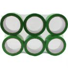 Polypropylene Tape 50X66 Green 62050665 (Pack of 6)